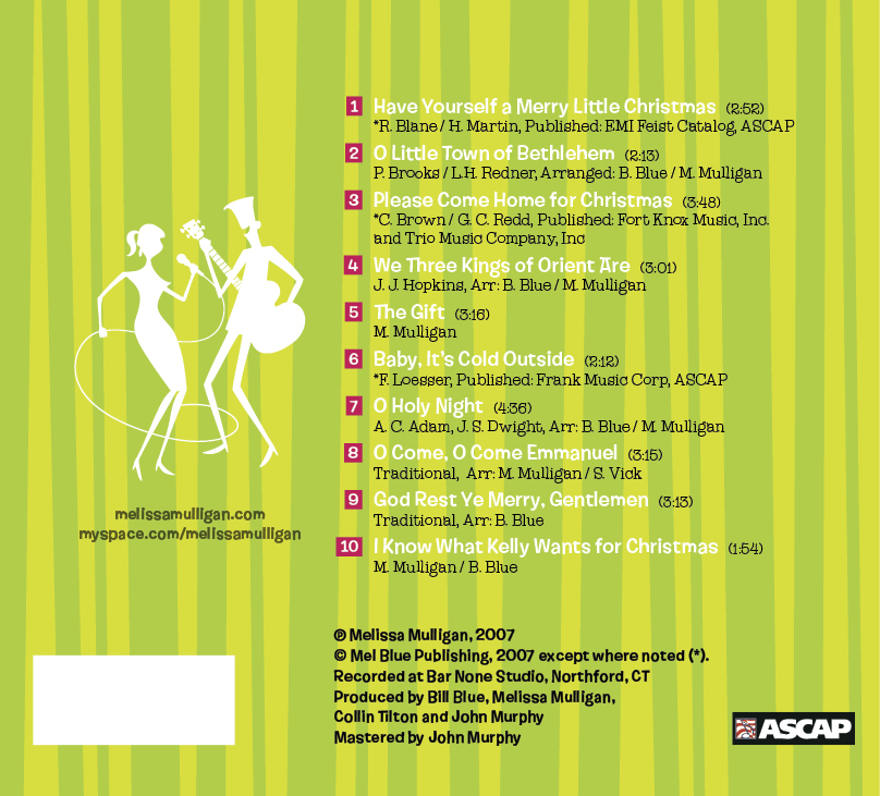Baby, It's Christmas Time! Jewel Case Back Cover