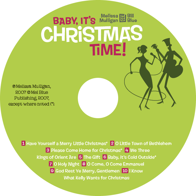 Baby, It's Christmas Time! Disc Surface