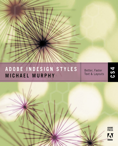 Adobe InDesign CS4 Styles book cover