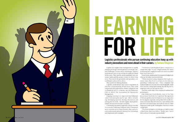 Learning for Life Opening Spread