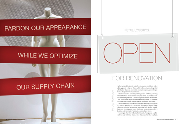 Retail Supply Chain Opening Spread
