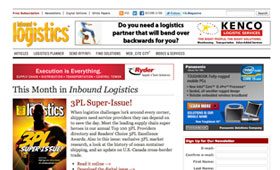 Inbound Logistics Web Site