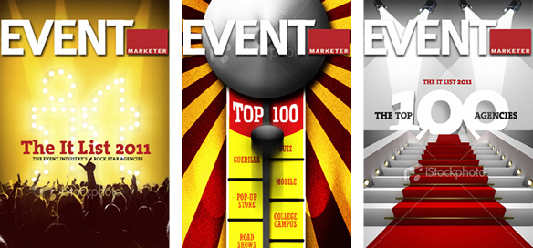 Event Marketer It List Cover Concepts