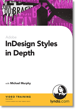 InDesign Styles in Depth DVD cover