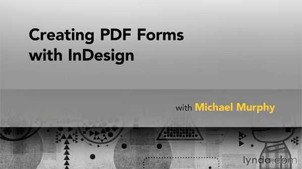 PDF forms course title slide