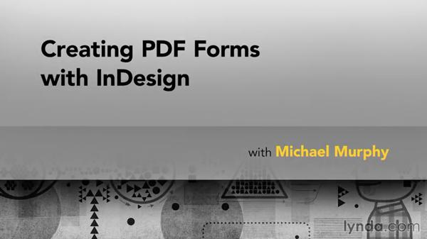 PDF forms course title slide